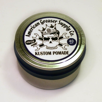 American Greaser Supply 40 Weight Kustom Pomade in the group Hair and skincare / Pomade at Sivletto - Skylark AB (w948)