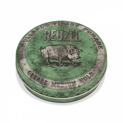 Reuzel Green Grease Medium Hold in the group Hair and skincare / Pomade / Oil based pomade at Sivletto - Skylark AB (w9489)