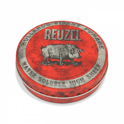 Reuzel Red High Sheen Water Soluble  in the group Grooming / Pomade / Medium pomada at Sivletto - Skylark AB (w9490)