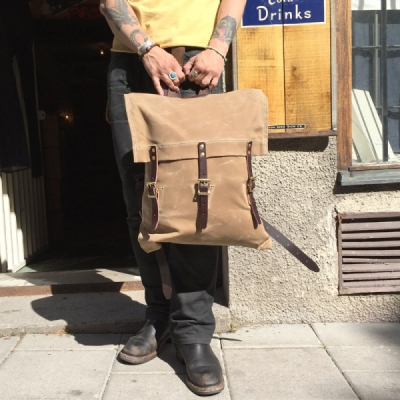 Duluth Pack Custom Made Waxed Canvas Pack in the group Unionville / Accessories at Sivletto (w9501)