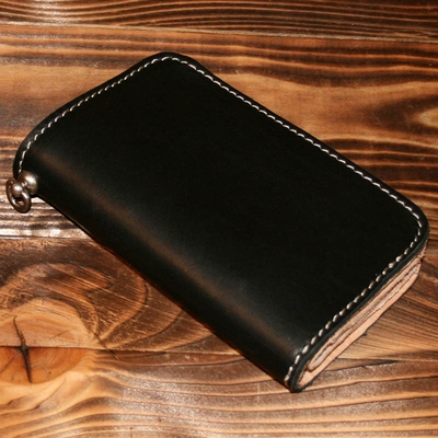 Pike Brothers 1965 Rider Wallet Black in the group Denim / Accessories at Sivletto (w9502)