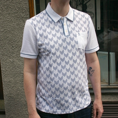 Penguin Polo Bright White in the group Clearance / Men / T-shirts at Sivletto (w9579)