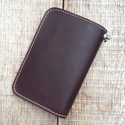 Pike Brothers 1965 Rider Wallet Cognac in the group Denim / Accessories at Sivletto (w9592)