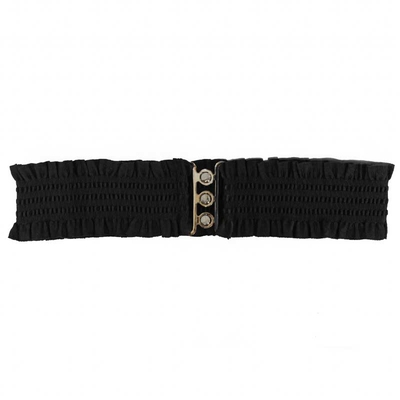 Collectif Sarah Retro Belt Black in the group Women / Accessories at Sivletto (w9637)