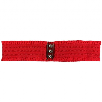 Collectif Sarah Retro Belt Red in the group Women / Accessories at Sivletto (w9641)
