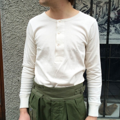 Merz b. Schwanen 206 Nature Organic 1/1-Sleeve Shirt in the group Unionville / Long sleeve at Sivletto (w9642)