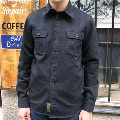 WMAC Work Shirt #21 Black in the group Men / Shirts, long sleeve at Sivletto (w9698)