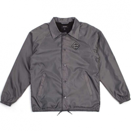 Brixton Seiver jacket charcoal in the group Men / Jackets and coats at Sivletto (w9715)