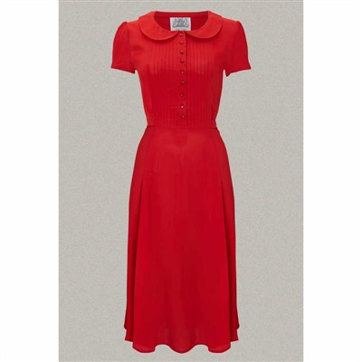 The Seamstress of Bloomsbury Dorothy dress red in the group Women / Dresses at Sivletto - Skylark AB (w9785)