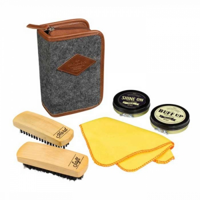 Wild & Wolf Shoe Shine Kit in the group Men / Shoe care at Sivletto (w9863)
