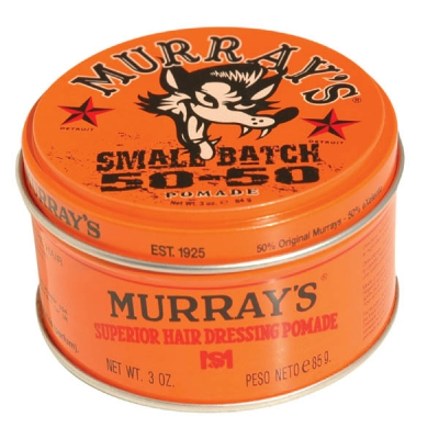 Murray's Small Batch 50-50 Special Edition Pomade in the group Hair and skincare / Pomade / Oil based pomade at Sivletto - Skylark AB (w9894)