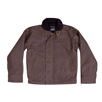 Pike Brothers 1944 N1 Deck Jacket Khaki in the group Men / Jackets and coats at Sivletto (w9901)
