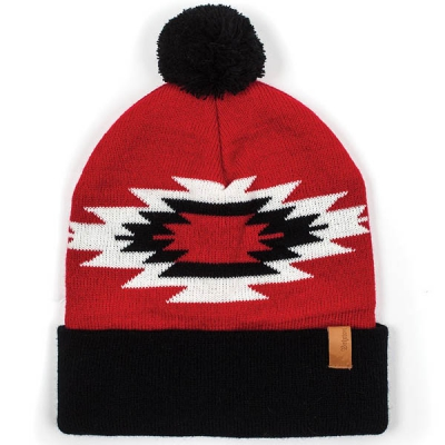 Brixton Pom Rodeo Beanie Red in the group Men / Headwear / Beanies at Sivletto - Skylark AB (w9999)
