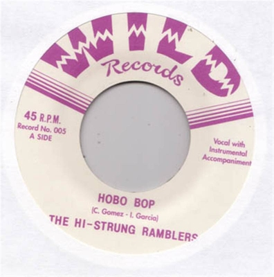 The Hi-Strung Ramblers - Hobo Bop/Run Boy Run in the group Misc / Music / Vinyl at Sivletto (wr45-005)