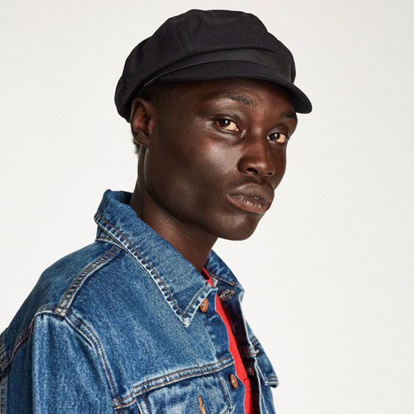 0e546a27 ... wholesale brixton montreal cap black b689e 88067 inexpensive brixton.  womens black montreal newsboy hat ...