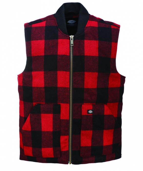 Dickies Martinsburg Vest Red Sivletto