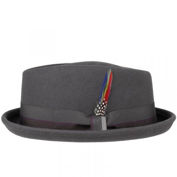 Stetson Diamond Woolfelt Crushable Hat Grey 44b63f5f10c5