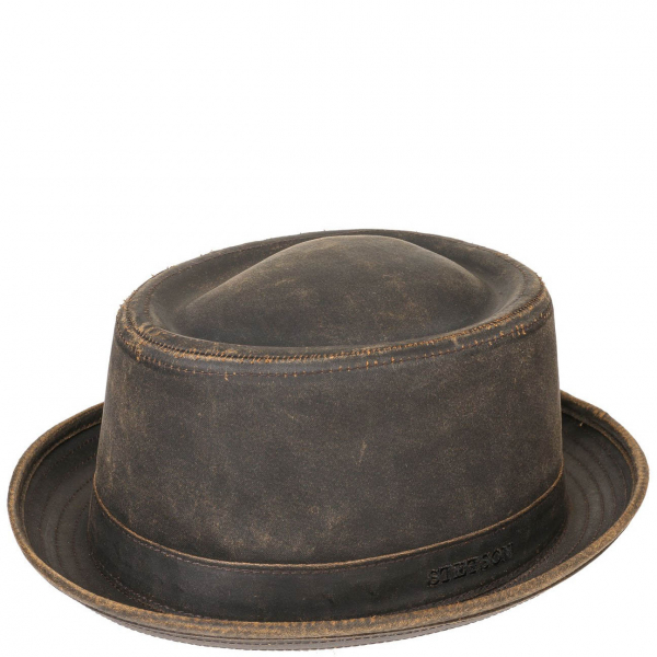 92383790da8 Stetson Odenton Pork Pie Hat Brown