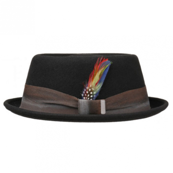b97d2a667 Stetson - Stetson Colour change ribbon pork pie hat
