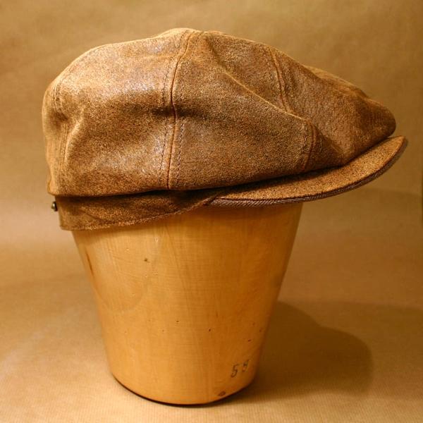797ec53c054118 Stetson Burney Leather Cap