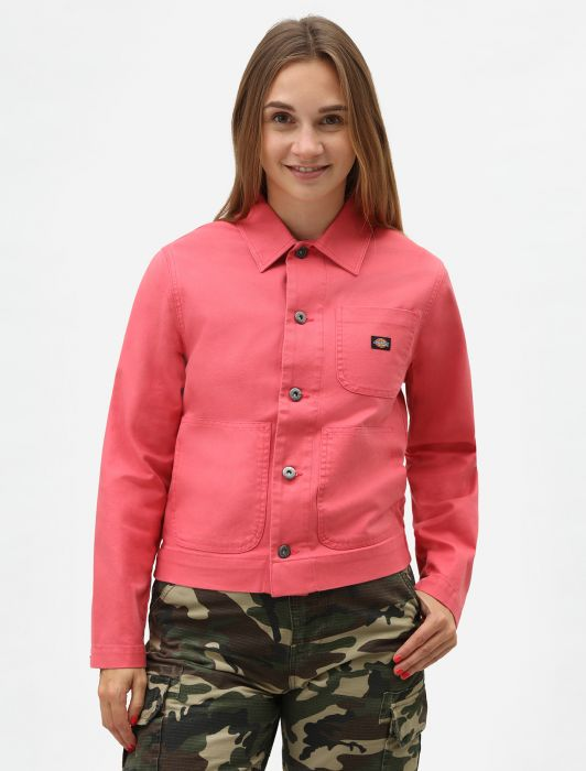 Dickies Dickies Toccoa Women's Unlined Chore Jacket Rose