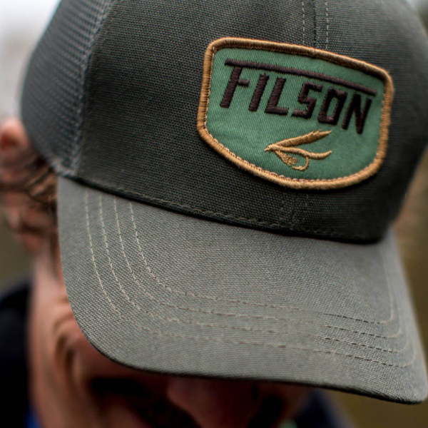 26918e08b Filson - Filson Logger Mesh Cap Balsam Green