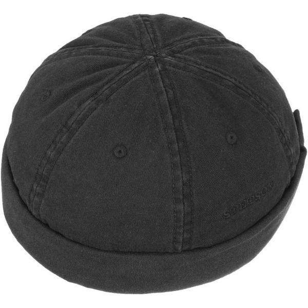 6c28daf1f32de Stetson Docker Cap Cotton Black