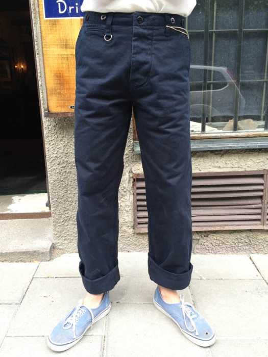 Pike Brothers 1932 Engineer Pant Dark Navy Sivletto