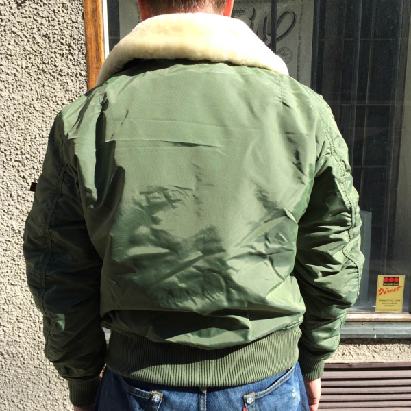 Alpha Industries Injector 3 Jacket Sage Green Sivletto