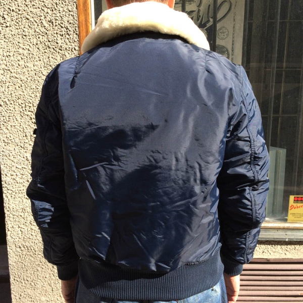 Alpha Industries Injector 3 Jacket Replica Blue Sivletto