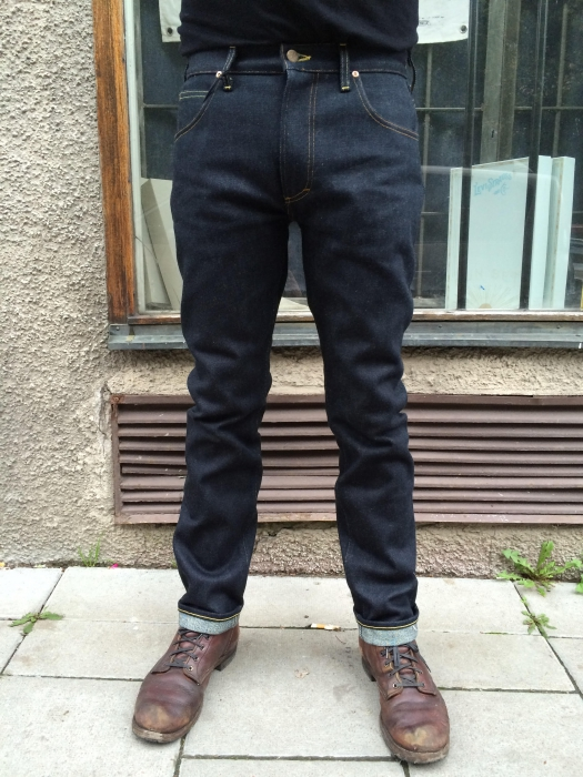 Lee 101 Rider 19oz Dry Selvage Sivletto