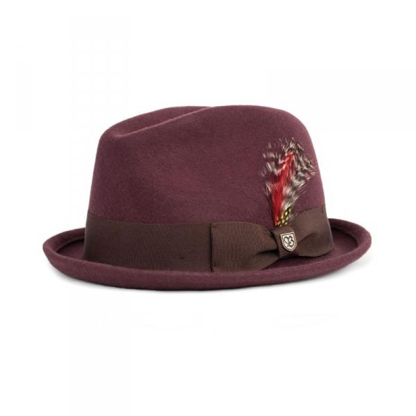 Brixton Gain Hat Maroon in the group Men   Headwear   Hats at Sivletto -  Skylark 90db32a91414