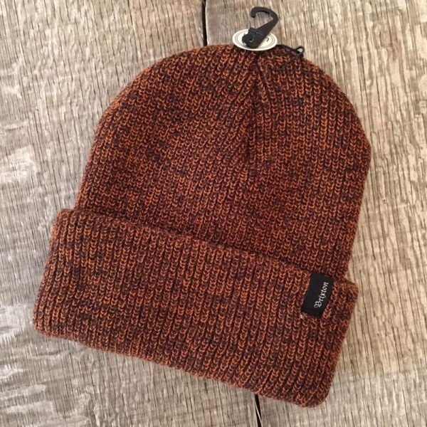 971046992 Brixton - Brixton Heist Athletic Orange/Brown Beanie