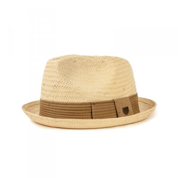 fd975997b4dd7 Brixton Castor Fedora Bone in the group Men   Headwear   Hats at Sivletto -  Skylark