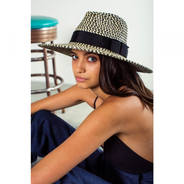 b83d4777187 Brixton Joanna Hat Black Cream in the group Clearance   Women   Misc at  Sivletto