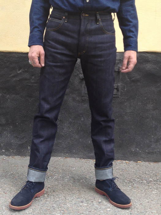 many fashionable 100% quality better Lee 101 Rider Slim Fit Green Selvedge | Sivletto