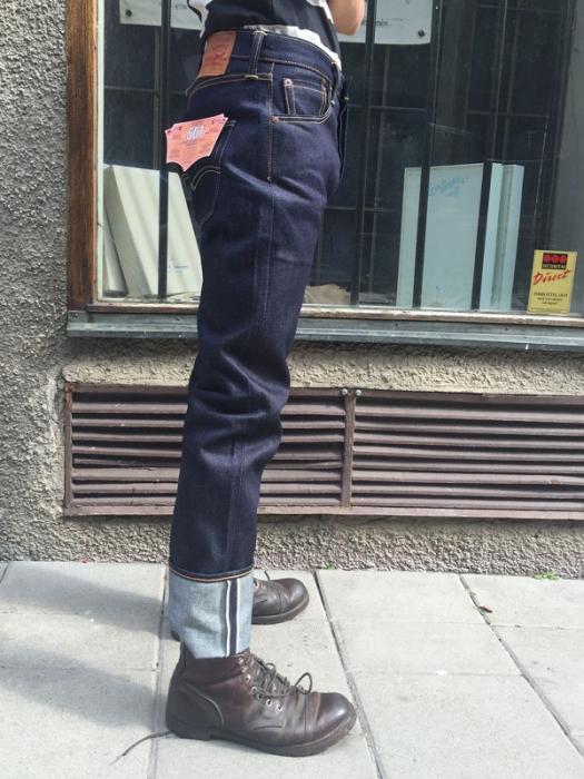 Levi S 501 Original Fit Selvedge Jeans