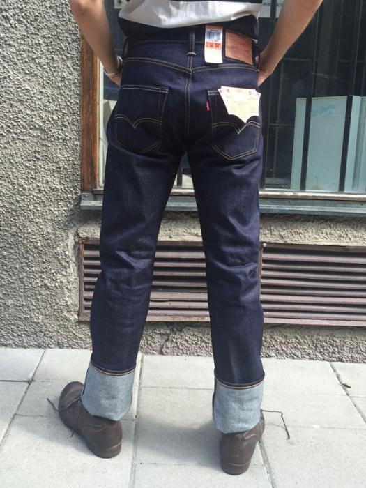 8bd9d16978f Levi s 501 Original Fit Selvedge Jeans
