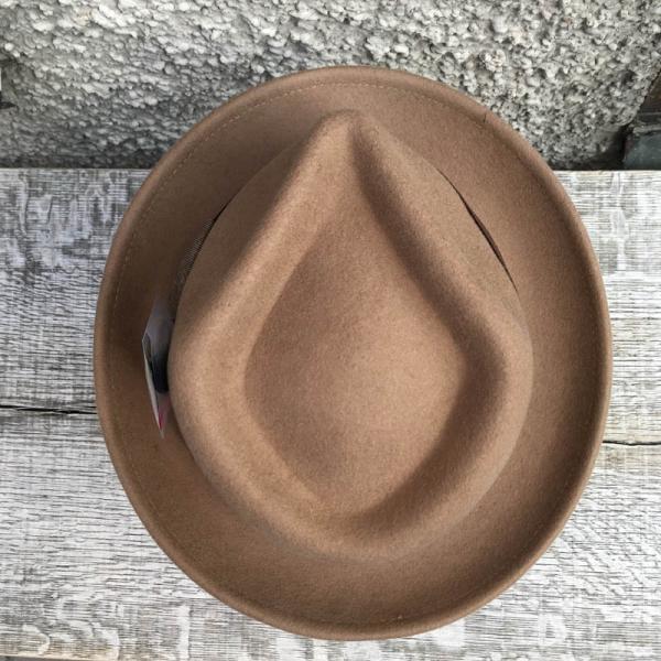 4f4c29802f4710 Stetson Virginia woolfelt fedora hat