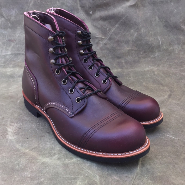 82ca7a35d56 Red Wing Shoes Red Wing Style No. 8119 Iron Ranger Oxblood | Red Wing