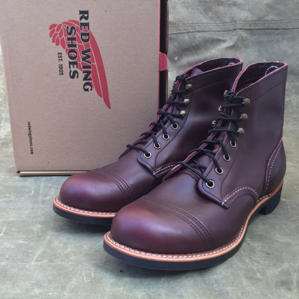 Red Wing Shoes Red Wing Style No 8119 Iron Ranger Oxblood