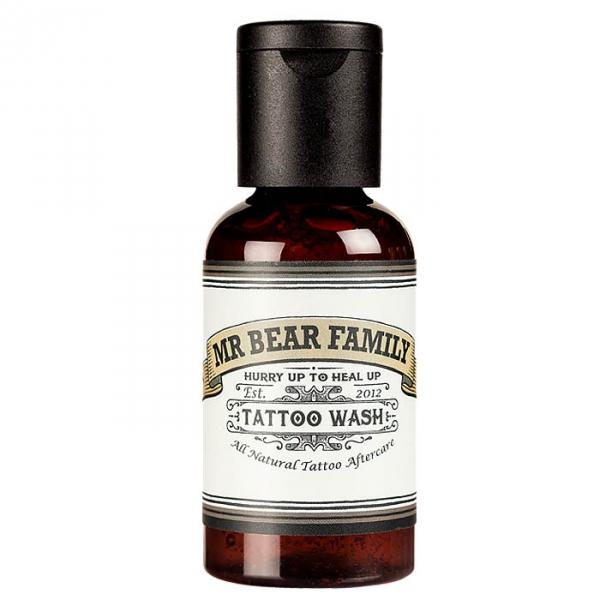 Mr bear tattoo wash for Soap to wash tattoo
