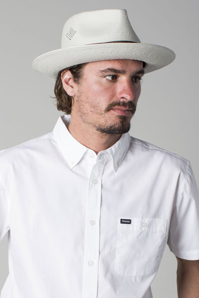 Brixton Havasu fedora bone in the group Men   Headwear   Hats at Sivletto -  Skylark f4549956cd38