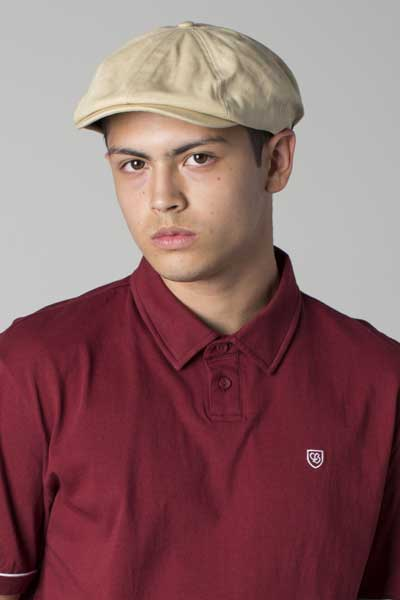 3dcb0460 Brixton Brood snap cap offwhite in the group Men / Headwear / Flat caps at  Sivletto
