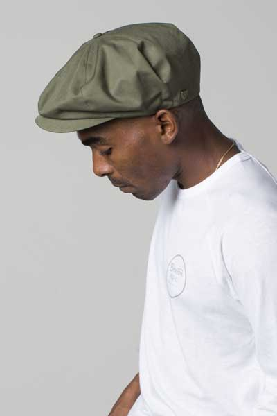 f0696bd8f08 Brixton Ollie cap army in the group Men   Headwear   Flat caps at Sivletto -