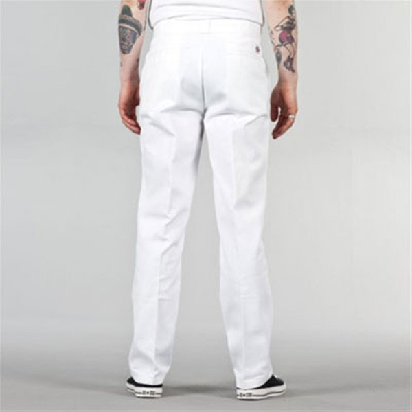 White Dickie Pants