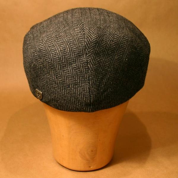 66e3540f1491f Brixton Hooligan grey/black herringbone in the group Men / Headwear / Flat  caps at