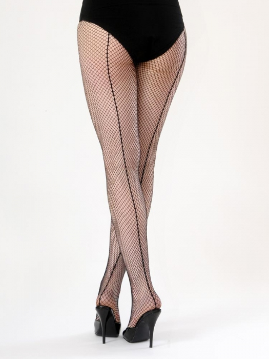 af333ddb0 What Katie Did Seamed fishnet tights black in the group Women    Undergarments at Sivletto -