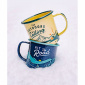 Gentlemen's Hardware Enamel Mug Outdoors Yellow