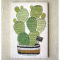 Wit & Whistle Cactus weekly list notepad